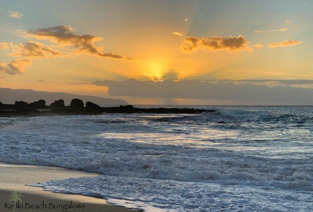Happy New Year to all of our Ohana. There's some amazing things on the horizon for 2021 🌅 . . #keikibeachbungalows #keikibeach #northshoreoahu #northshore #pupukea #oahu #hawaii #hawaiilife #luckywelivehawaii #luckywelivehi #instahawaii #hawaiiunchained #808 #808life #808state #hawaiisunset #hawaiiansunset #beachbungalow #endlesssummer #islandlife #islandliving #aloha #livealoha #alohastate #alohavibes #alohastateofmind