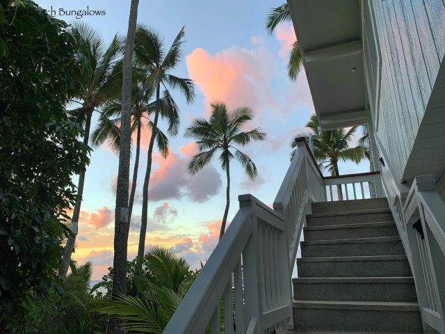 Stairway to Heaven 🌅 All you have to do to get in...is book it https://keikibeach.com/bungalows/orchid/ . . #keikibeachbungalows #keikibeach #northshoreoahu #northshore #pupukea #oahu #hawaii #hawaiilife #luckywelivehawaii #luckywelivehi #instahawaii #hawaiiunchained #808 #808life #808state #beachfront #hawaiiantropic #beachbungalow #endlesssummer #islandlife #islandliving #aloha #livealoha #alohastate #alohavibes #alohastateofmind